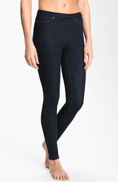 Madison colored Hue Denim Leggings available at #Nordstrom
