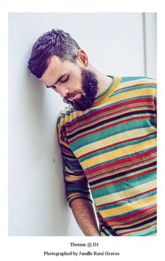 Sweater beard hair, fashion streetstyle Style sweatshirt men