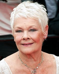 ... new 30 on Pinterest | Short blonde, Hairstyle for women and Judi dench