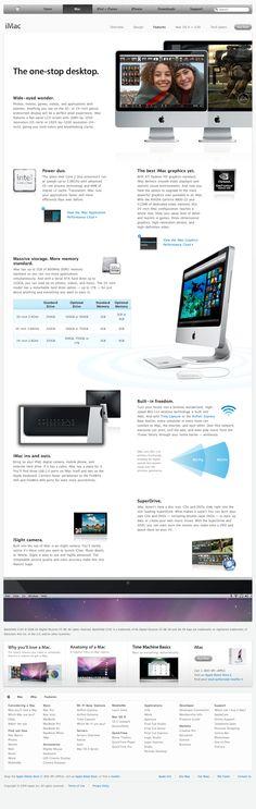 apple imac features 07012009