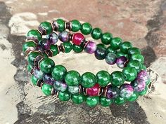Jade, Rainbow Bracelet, Wrist Mala, Chakra Bracele – AwakenYourKundalini