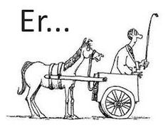 Image result for cart before the horse meme