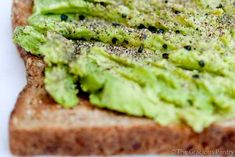 Clean Eating Avocado Toast- possibly my all time favorite snack! Perfect for Advocare cleanse when using 100% whole wheat bread. Daves Killer Bread is the best!!