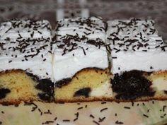 Výborný koláč s tvarohom a slivkovým lekvárom (zdroj: Naničmama. Nutella, Tiramisu, Cheesecake, Food And Drink, Pudding, Treats, Baking, Sweet, Ethnic Recipes