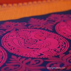 The masterful weavers of Kanchipuram have achieved a level of perfection with amazing attention to detail. India Colors, Motif Design, Swirls, Hand Weaving, Saree, Embroidery, Detail, Amazing, Creative