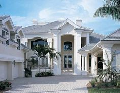 New American House Plan with 6279 Square Feet and 4 Bedrooms from Dream Home Source | House Plan Code DHSW54356
