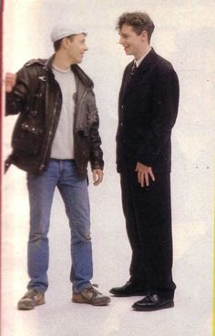 Pet Shop Boys. I LOVE me some New Wave. Music is my