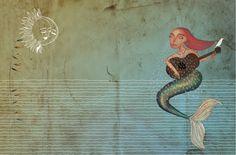 La Sirena del río Conchos.    Les comparto avances del dibujo del mes de febrero de nuestro próximo calendario 2013. Ilustrado e impreso en serigrafía por 75 grados. #garabatosinjustificados :)    Participan dibijantes de Tepic, Puebla, Xalapa y el D.F.  Seguiremos informando.