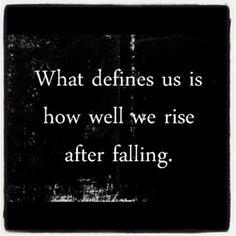thefoundrymc:    Lo que nos define es como nos levantamos después de una caída.
