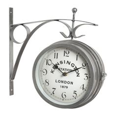 Reloj metálico Diám. 31 cm MARSHALL