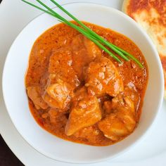 A simplified version of a classic Indian take out Butter Chicken; rich & spicy with no overwhelming amount of heat. Easily adjust the spices to your taste.