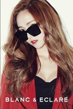 Jessica of for Blanc & Eclare Jessica Jung, Jessica & Krystal, Krystal Jung, Kim Hyoyeon, Yoona, Kpop Girl Groups, Kpop Girls, Blanc And Eclare, Korean Girl