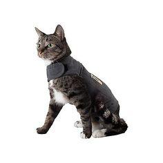 ThunderShirt Cat Large Shirt Grey