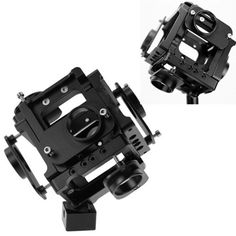 New 2015 Aerial Photography Gimbal 360 Degree Aluminium Monopod For Gopro Hero 4/3+/3 Spherical Panorama Camera Accessories