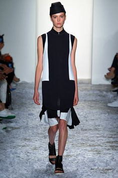Public School Spring 2015 Ready-to-Wear Fashion Show - Emmy Rappe