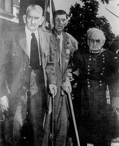 PLEASANT CRUMP last surviving Confederate soldier of the Civil War. Was 104 years old when he died in 1951.