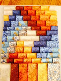 Weaver Fever quilt with Golden Age fabric line - Quilt With Us