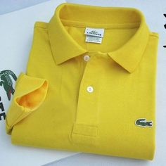 Lacoste Polo Long Sleeve Classic Shirt Dark Yellow    #CheapLacoste #CheapLacosteLongSleeve #Polos #LacostePolos #LacostePoloShirts #StylishLacosteShirts #LacosteForCheap