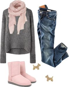 """Comfy Day Outfit"" by natihasi on Polyvore"