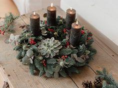 Christmas Wreaths, Christmas Decorations, Xmas, Holiday Decor, Presents, Plants, Diy, Modern, Home Decor
