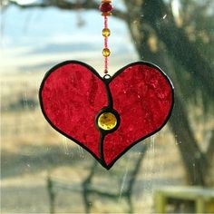 Stained Glass Heart...