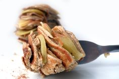 = PROTEIN POW(D)ER !: Apple Pie Protein Pancakes (Featuring Five Ingredients)