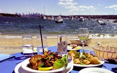 Doyles, Watsons Bay, Sydney ~ Fish and chips never looked or tasted so good. The view isn't bad either!