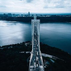 Vieng Na bridge, Vieng Na river Thai-Empire Fort Lee, Washington Heights, Hudson River, George Washington Bridge, New York City, Skyscraper, Nyc, Instagram Posts, Empire