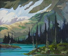 View Bow Lake near Banff, Alberta By Karen R. Oil on canvas; Access more artwork lots and estimated & realized auction prices on MutualArt. Canadian Art, Canadian Rockies, Group Of Seven, Banff Alberta, Oil On Canvas, Bows, Artists, Nature, Artwork