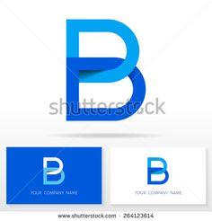Letter B logo icon design template elements - Illustration. Letter B logo icon design - vector sign. Logan, B Image, Find Logo, Letter B, Company Names, Icon Design, Royalty Free Stock Photos, Symbols, Illustration