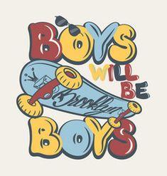 Skate board boys t-shirt graphics vector Shirt Print Design, Kids Prints, Boys T Shirts, Nursery Prints, Cartoon Styles, Illustrations Posters, Cute Art, Art For Kids, Skateboard