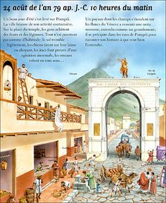 Pompeii illustration by Peter Dennis