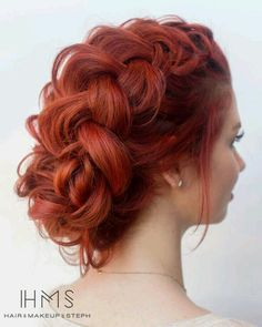Can't get enough of just as sweet as she is pretty! A tutoria… – Braids Bride Hairstyles, Pretty Hairstyles, Hair Design For Wedding, Wedding Ideas, Boxer Braids, Red Hair Don't Care, Beautiful Hair Color, Girl Short Hair, Ginger Hair