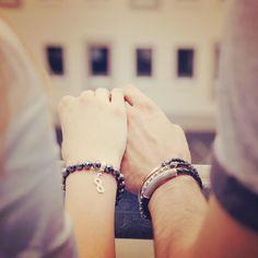 Forever us! #couple #wristgame #love #eternity #neverending #lovestory #truelove - Shop now for thomassabo > http://ift.tt/1Ja6lvu