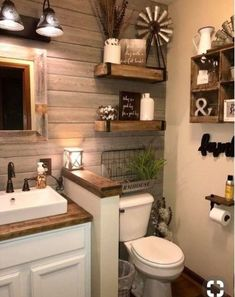 Love the rustic look...especially the walls.