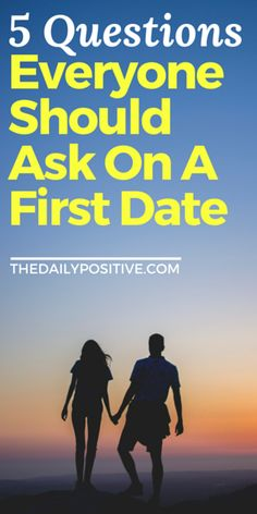 A first date is more than two people meeting – it's possibly the beginning of a completely different life. Therefore, the questions we ask during this special time become even more important. Here are 5 questions I believe everyone should ask on a first date.