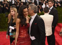 Amal Clooney stuns in nightgown-inspired dress on night out with George and family Amal Clooney, George Clooney, Art Costume, Hot Couples, Important People, Costume Institute, Vogue Australia, Through The Looking Glass, Cannes