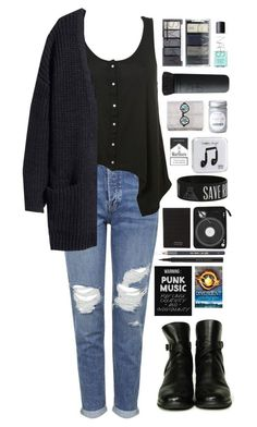 """""""divergent"""" by ellac9914 ❤ liked on Polyvore featuring Topshop, Chanel, H&M, NARS Cosmetics, Happy Plugs, Marc by Marc Jacobs, Barry M, Kevyn Aucoin, casual and divergent"""
