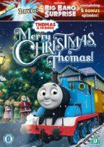 Thomas & Friends: Merry Christmas, Thomas! DVD. Thomas lights up the tracks in a magical Christmas collection! PLUS FREE SECOND THOMAS DISC: BIG BANG SURPRISE.