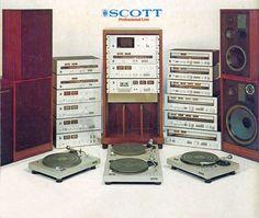 Professional Line SCOTT 1978 www.1001hifi.com