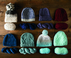 Knit a warm hat in a flash with these patterns from the Knit Picks Quick & Cozy . Crochet Bebe, Knit Or Crochet, Crochet Hats, Yarn Projects, Knitting Projects, Crochet Projects, Loom Knitting, Free Knitting, Baby Knitting