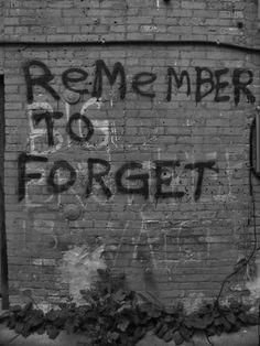 Recuerda para olvidar
