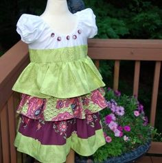Hey, I found this really awesome Etsy listing at https://www.etsy.com/ru/listing/50375098/sample-sale-amy-butler-love-ruffle-dress