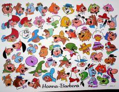 Hanna Barbera characters