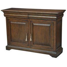 "Chapterhouse Cabinet  Cognac   Solid Walnut  54""w x 18""d x 38""h  Cognac Finish"