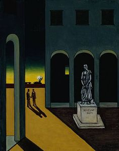 Even though Giorgio de Chirico had moved on from his metaphysical period, the public hadn't. So the Italian artist decided to have a little fun. Italian Painters, Italian Artist, Traditional Paintings, Art Design, Art Plastique, Impressionism, Les Oeuvres, Art History, Modern Art