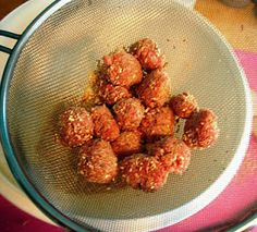 Coconut & Lime: recipes by Rachel Rappaport: How to Make Mini Meatballs