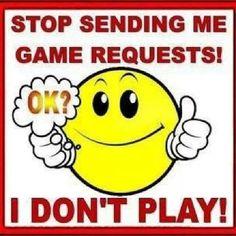 Facebook Game Requests: