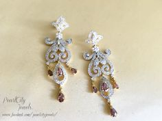 Beautiful wine drop earrings for your perfect occasion... Email: info@pearlcityjewels.com https://www.facebook.com/pearlcityjewels/