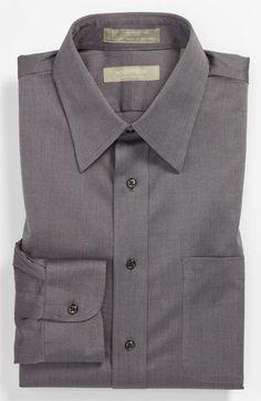 Nordstrom Smartcare™ Traditional Fit Herringbone Dress Shirt   Nordstrom   I love the subtle herringbone pattern